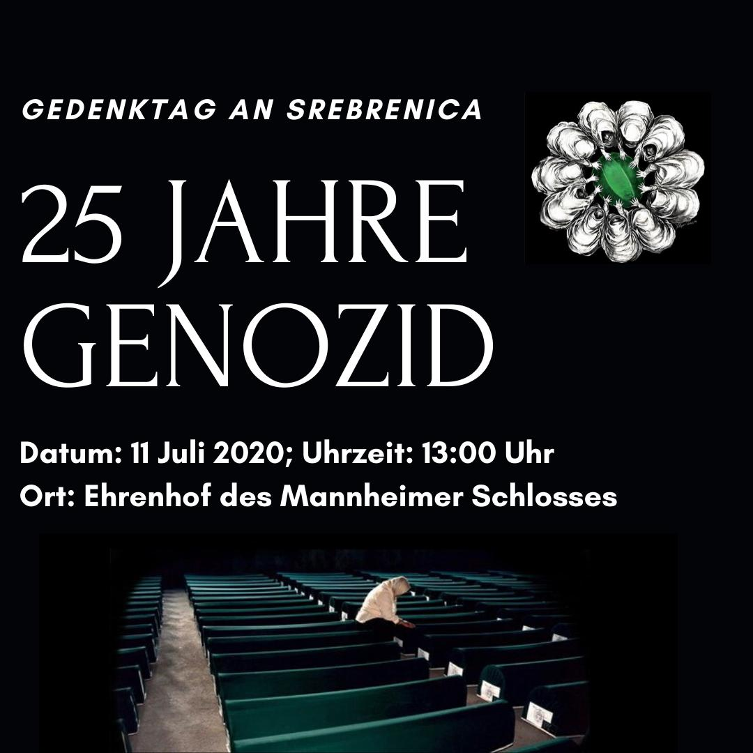 ,,25. Jahre Genozid – Gedenken an Srebrenica